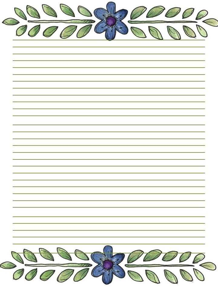 59 Best Stationery Printable Images On Pinterest Writing