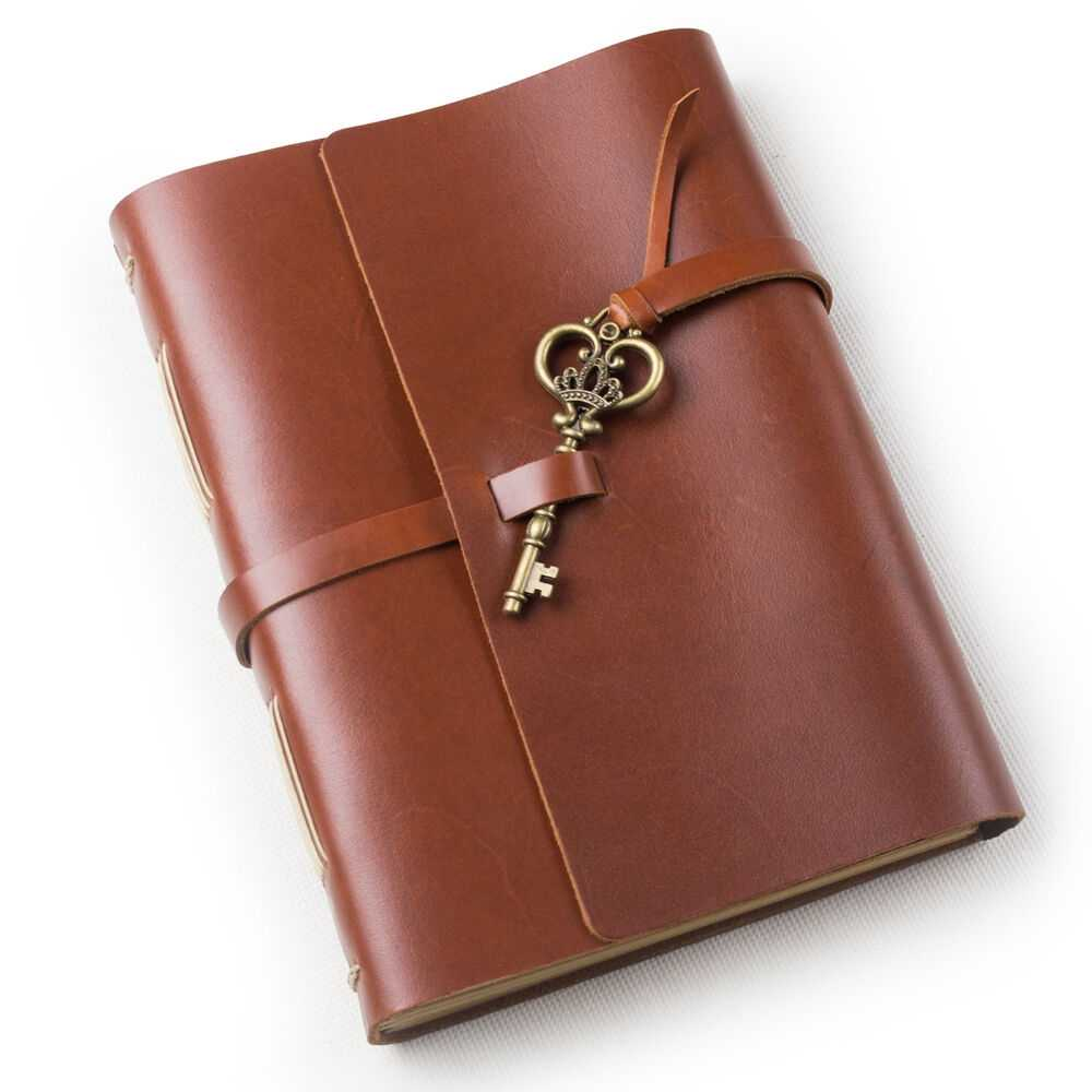 Ancicraft Leather Journal Diaries With Vintage Key A5