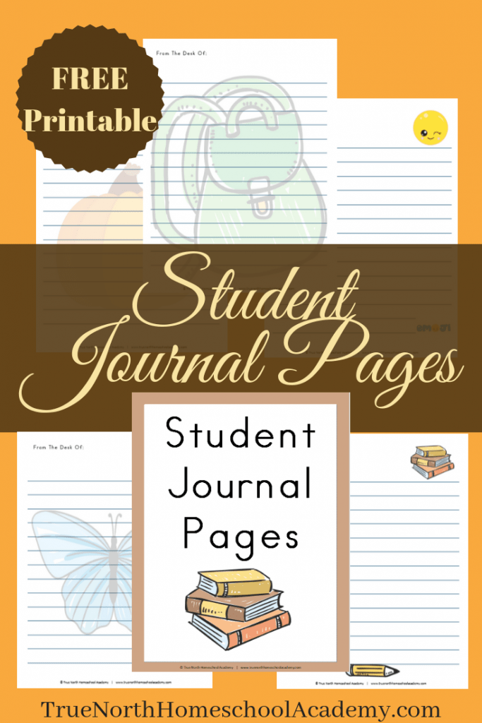 Free Printable Student Journal Pages True North