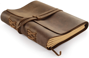 Full Grain Leather Journal With Lined Pages Refillable