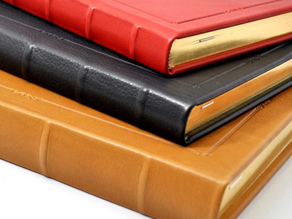Leather Bound Hardcover Journal With Lined Pages