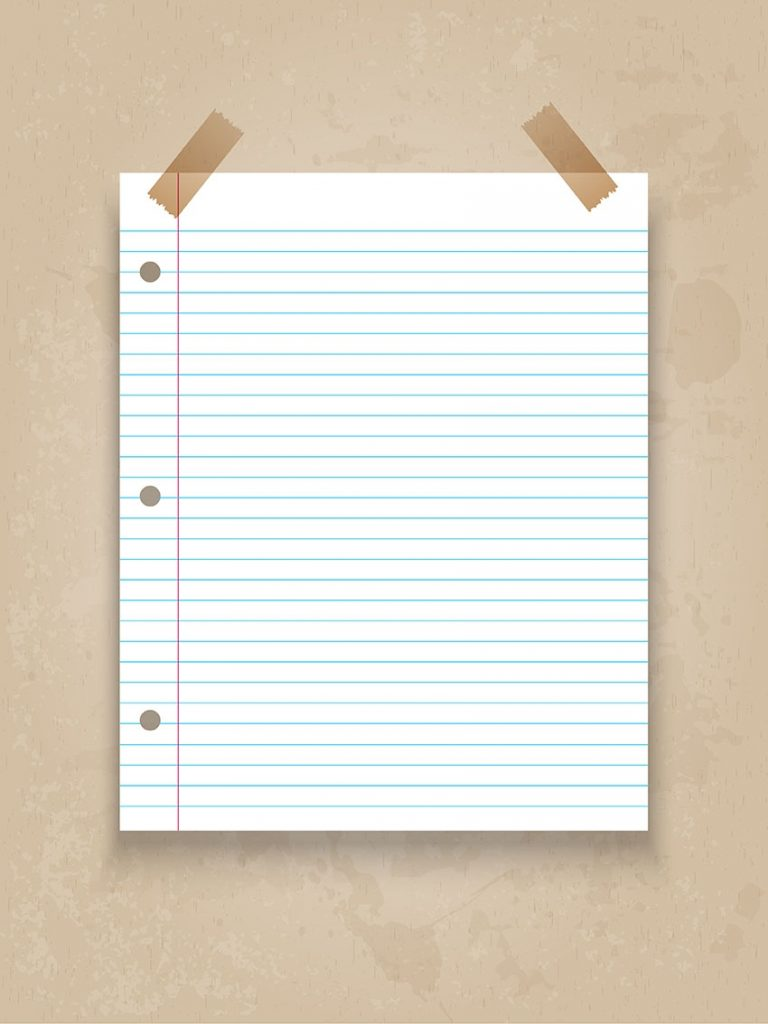 Lined Paper On Grunge Background Download Free Vectors