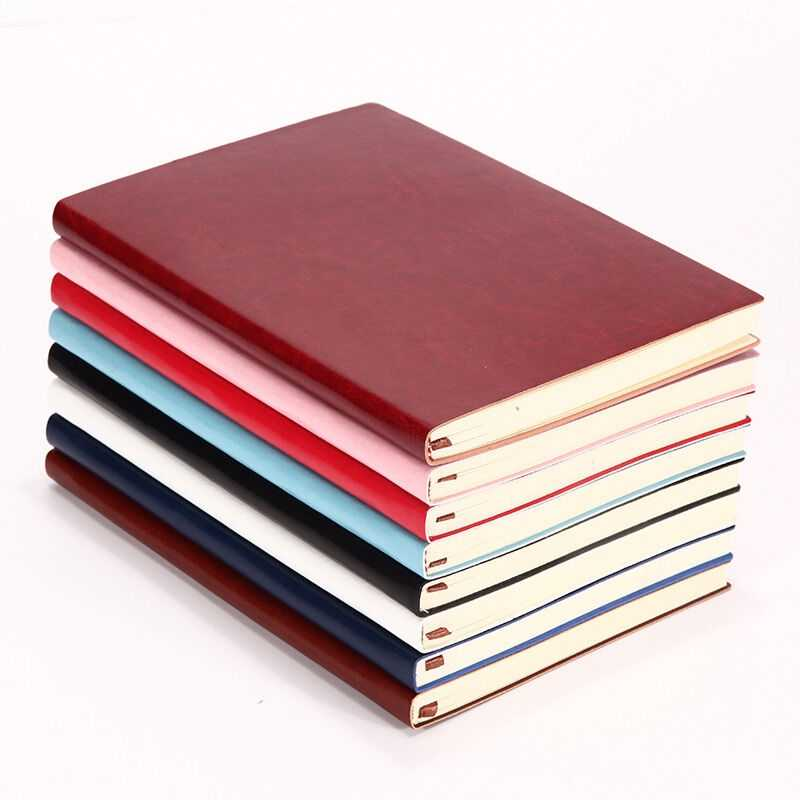Soft Cover Faux Leather Universal Notebook Writing Journal