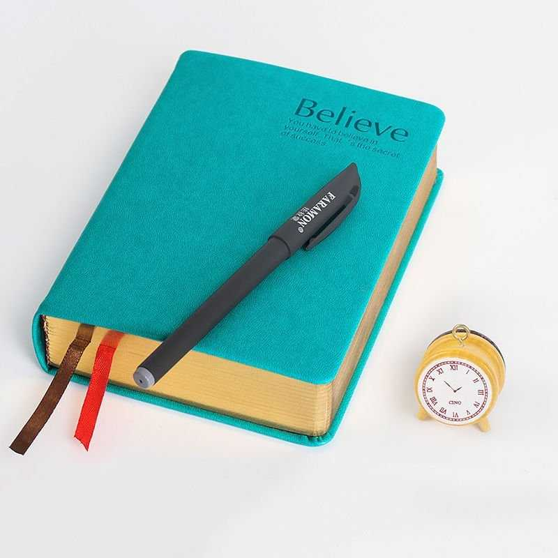 Thick Classic Leather Bound Journal Lined Paper Diary
