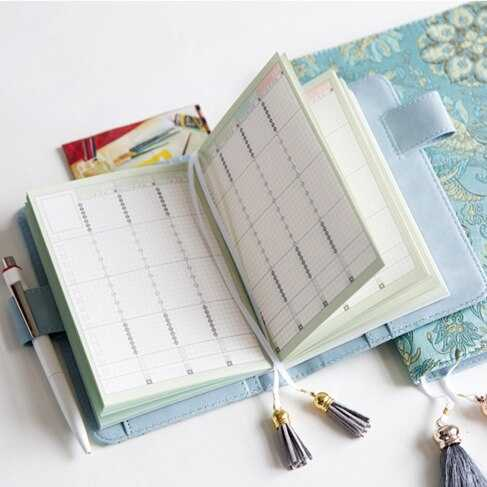 Undated Daily Weekly Monthly Refill Agenda For Hobonichi