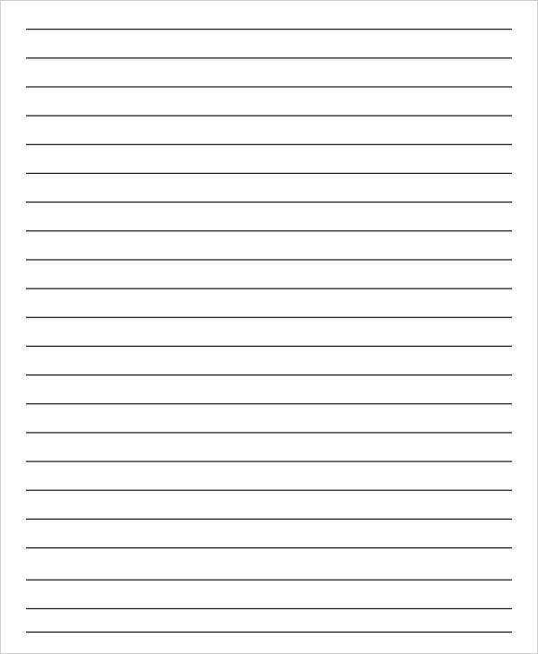 14 Lined Paper Templates In PDF Free Premium Templates