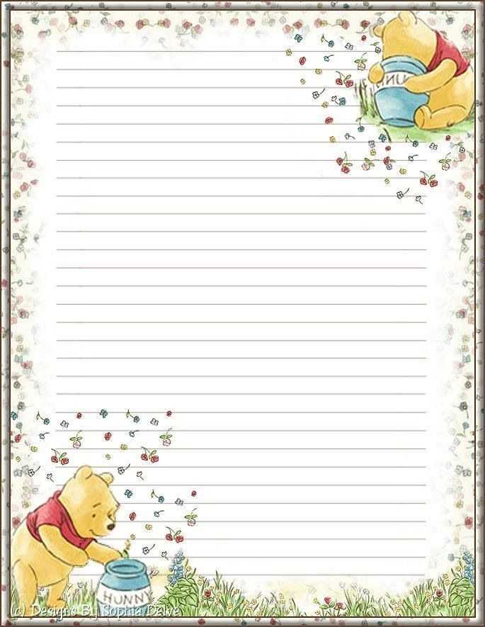 15 Best Cute Lined Paper Images On Pinterest Writing
