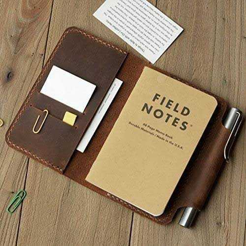 Amazon Personalized Leather Refillable Composition