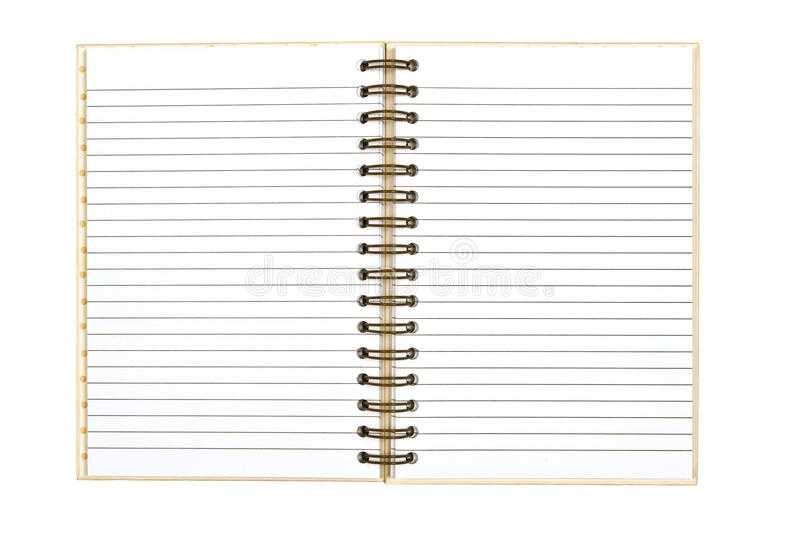 Blank Journal Background Revised 2 Stock Image Image Of