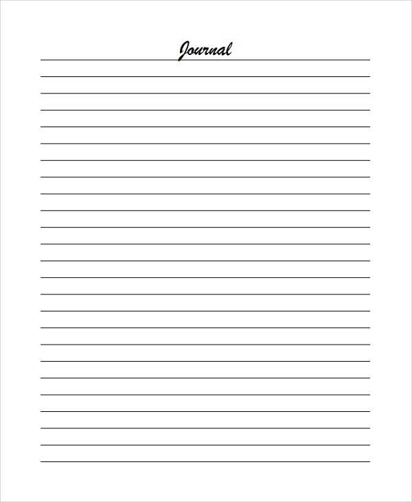 FREE 19 Sample Lined Paper Templates In PDF MS Word