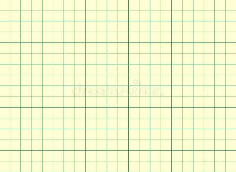 Graph Paper Grid Lines Background Stock Vector