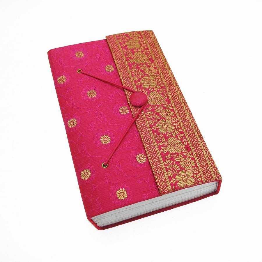 Handmade Extra Large Sari Journal By Paper High