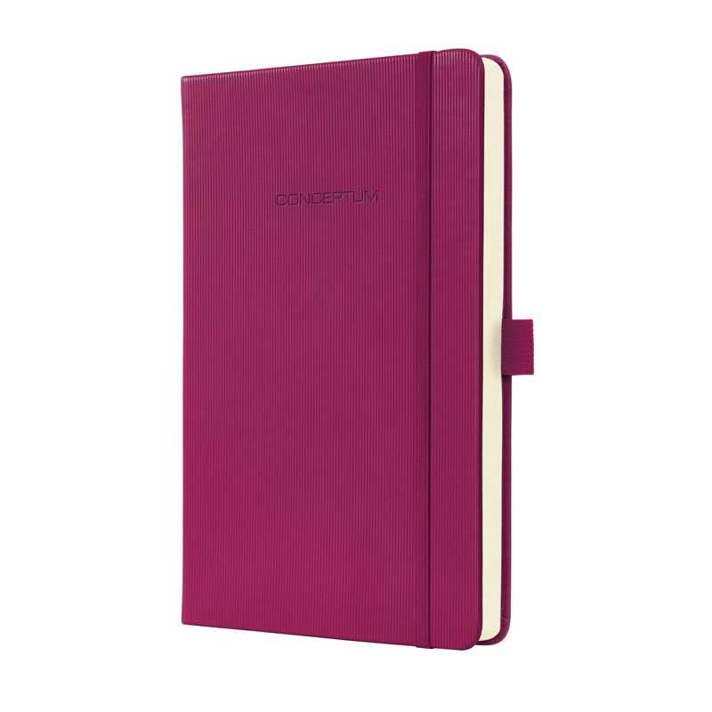 Hardcover Lined Notebook Journal Size with Elastic Closure