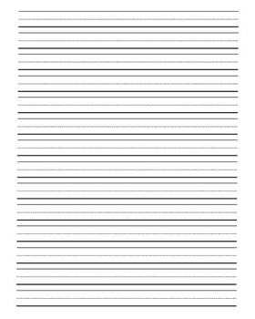 Lined Journal Writing Paper By Clip Art By Carrie Teaching