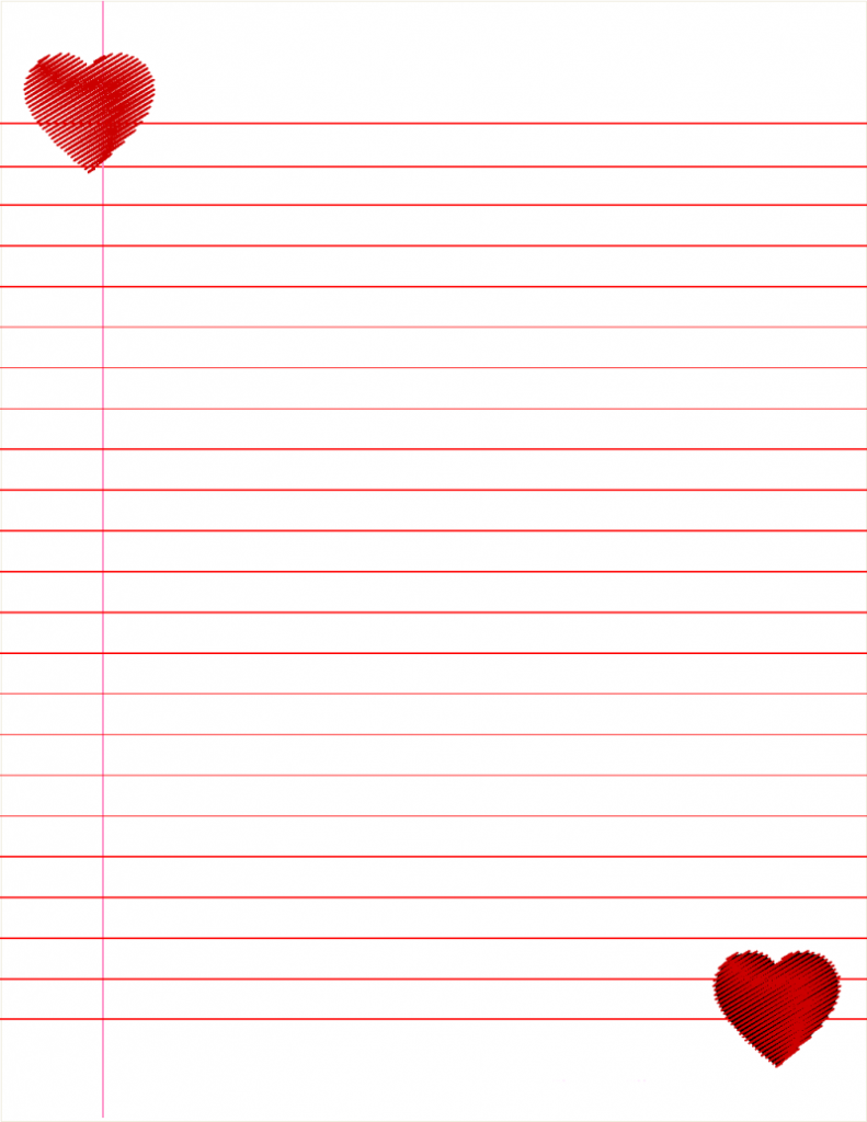 Lined Paper For Kids Loving Printable Printable Lined