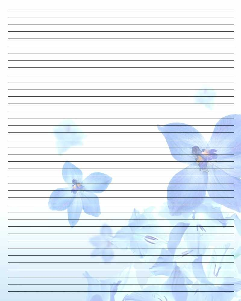 Printable Writing Paper 75 By Aimee Valentine Art