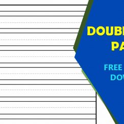 Double Lined Paper Printable