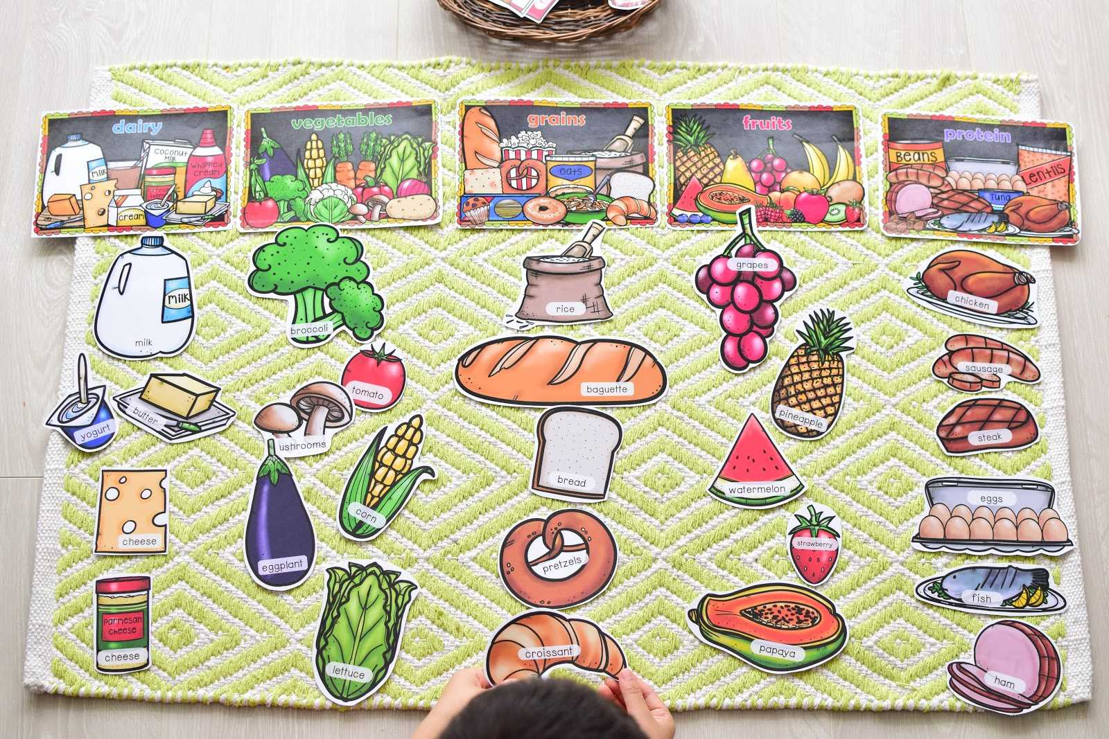 Printable Food And Nutrition For Preschool