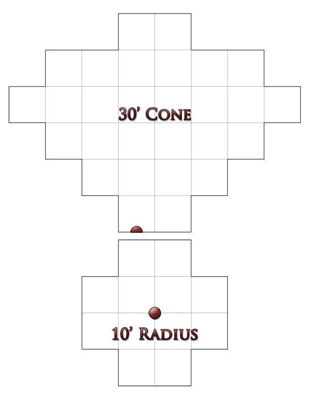 Best Dnd Radius Templates