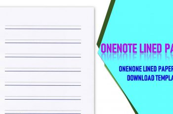 OneNote Lined Paper