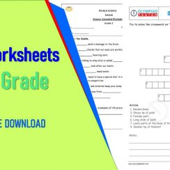 Science Worksheets For 4th Grade