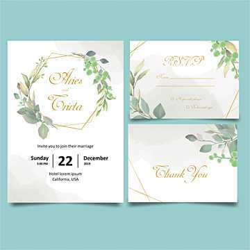 Free RSVP Template For Wedding Invitation
