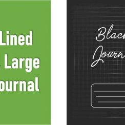 Blank Lined Journal Large Lined Journal