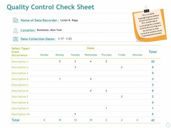 Check In Check Out Sheet Template