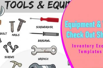 Equipment & Tool Check Out Sheet