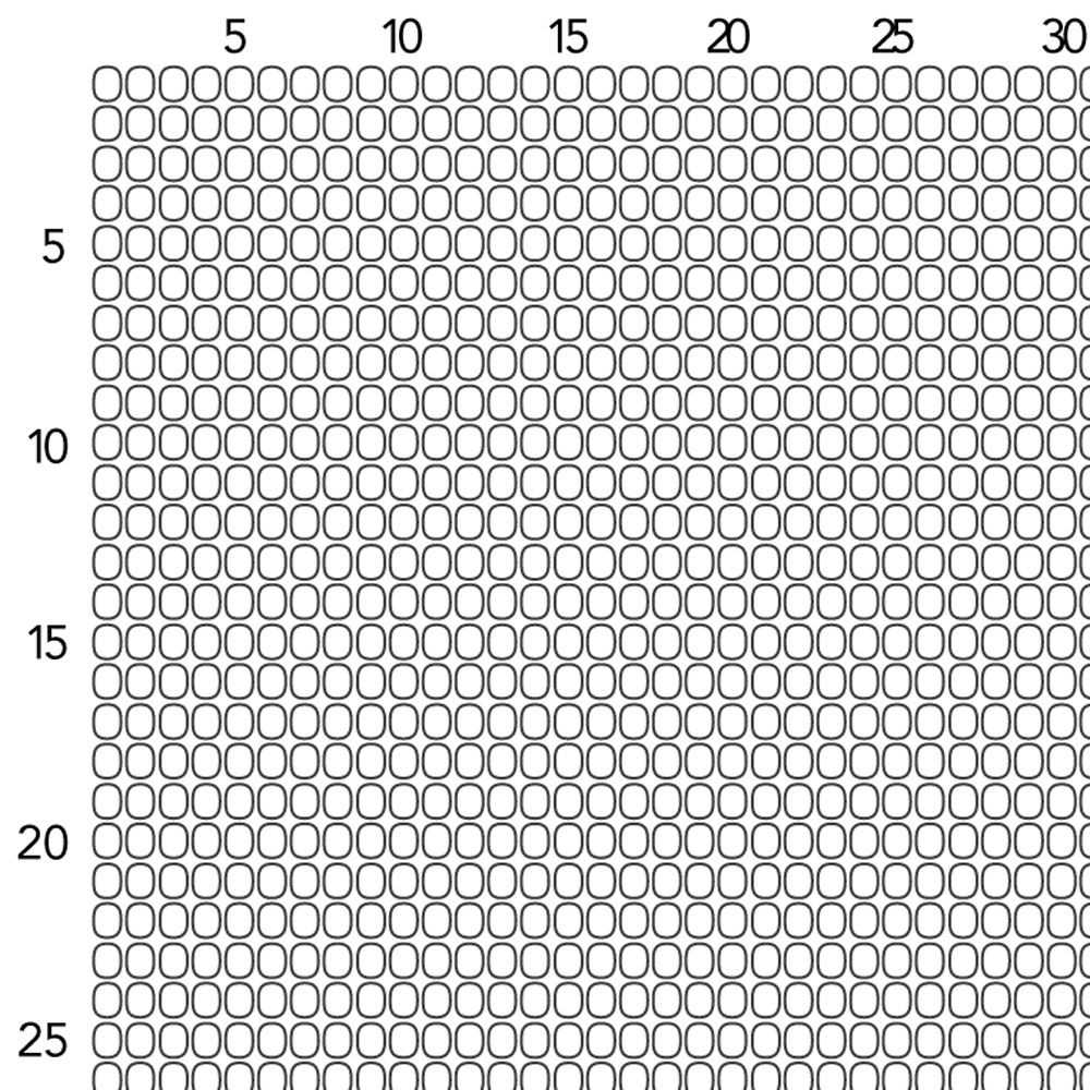 Bead Loom Graph Paper Size 11 Seed Beads Fusion Beads