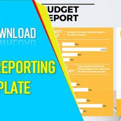 budget reporting template