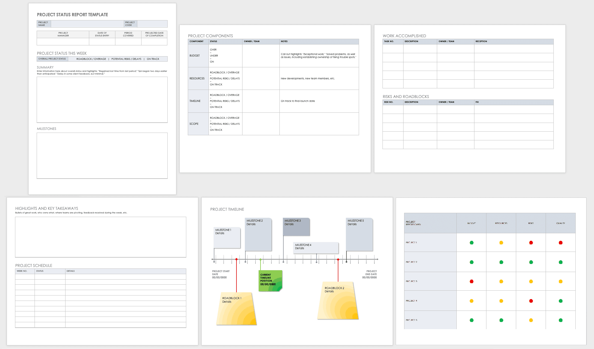 Daily Progress Project Report Template