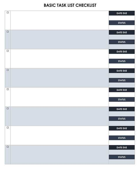 To Do List Planner Template Word